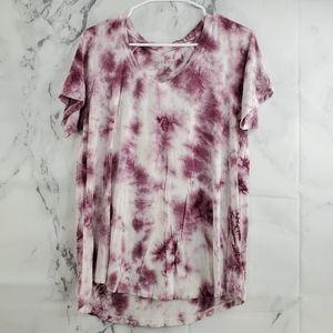 AEO Soft & Sexy Tye Dye Short Sleeve T-shirt